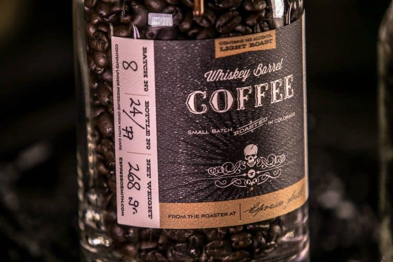 Whiskey Barrel Coffee Light Roast Unique Coffee Flavor