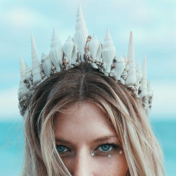 Wild & Free Jewelry La Jolla Mermaid Tiara Gift Idea for Her