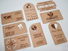 Wood you like a business card?