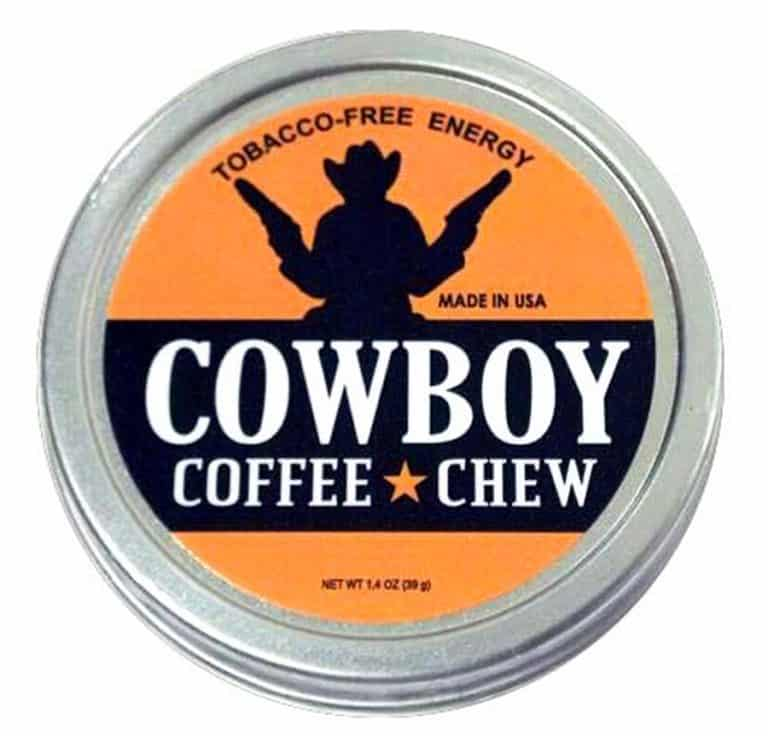 Chew Coffee Dip Cowboy Coffee Chew Caffeine Boost