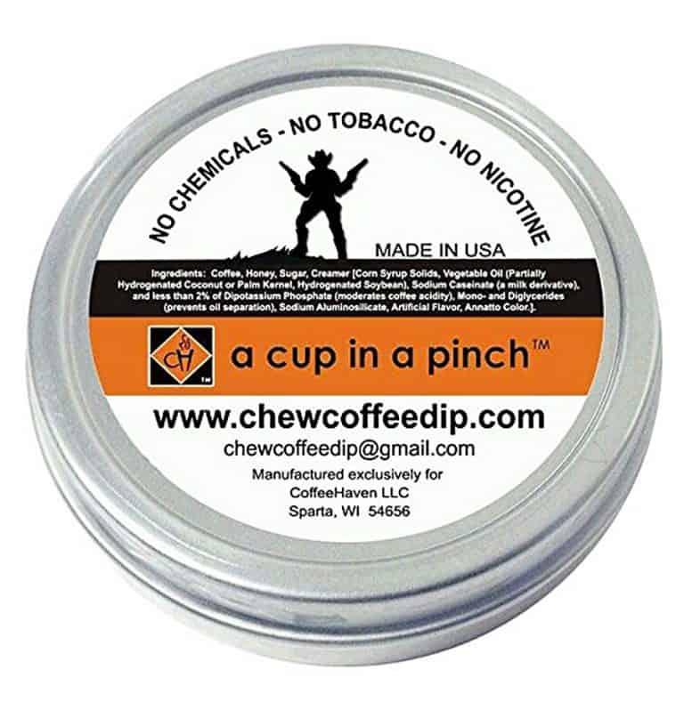 Chew Coffee Dip Cowboy Coffee Chew Dipping Smokeless Tobacco
