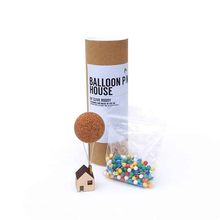 Clive Roddy Balloon Pin House Solid Cork Ball Core