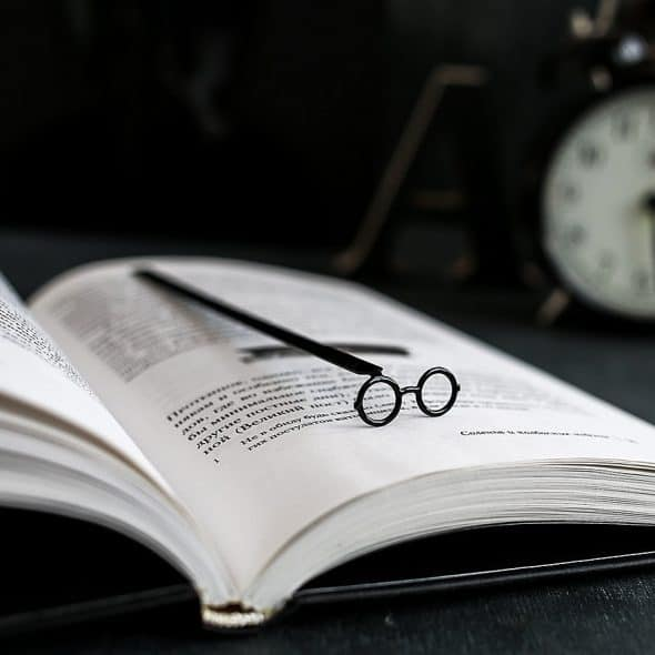 Cool Bookmark Metal Harry Potter glasses Bookmark Give Away Idea
