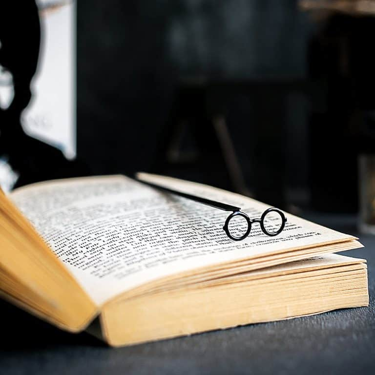 Cool Bookmark Metal Harry Potter glasses Bookmark Good for Book Lovers