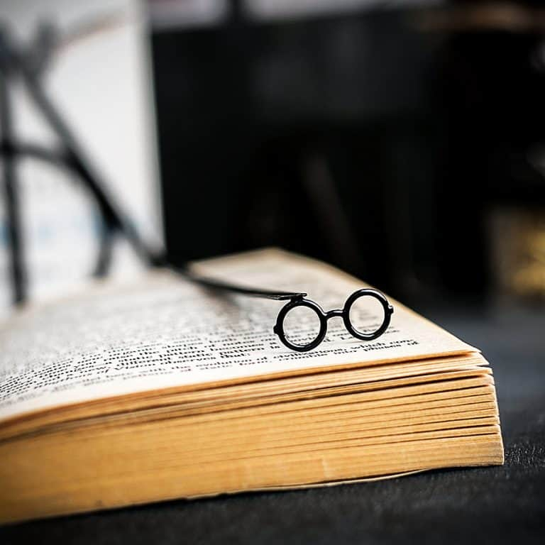 Cool Bookmark Metal Harry Potter glasses Bookmark Nice Bookmarker