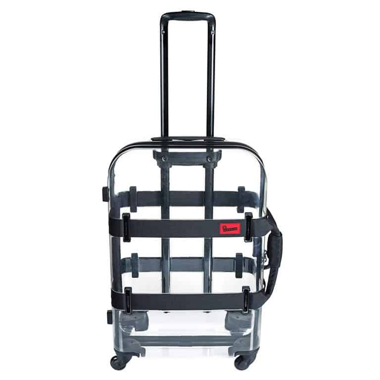 Crumpler Vis-a-Vis Clear Luggage Transparent Shell