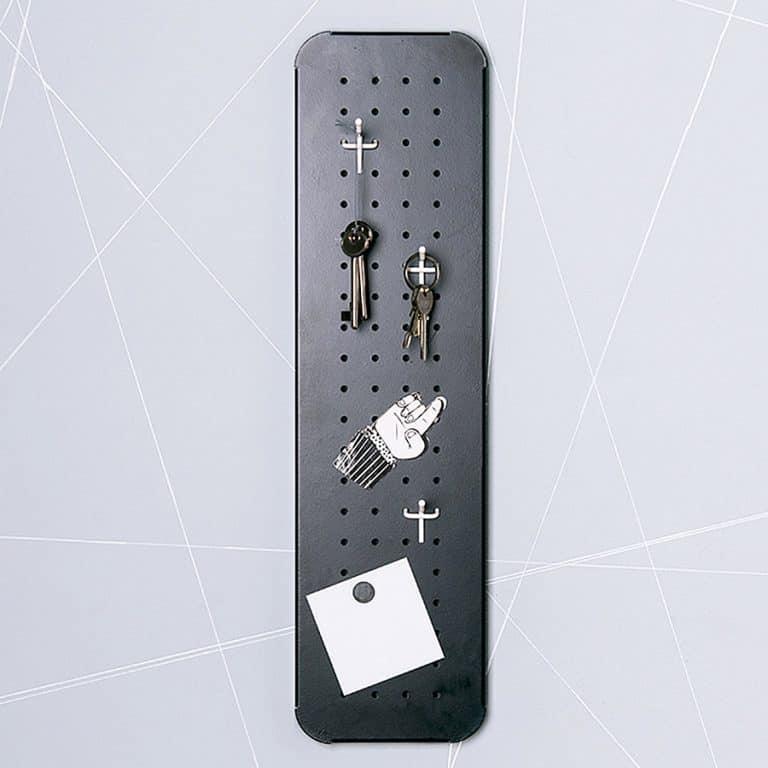 Eina Design Mini Metal Pegboard Organizer Great for Car and House Keys