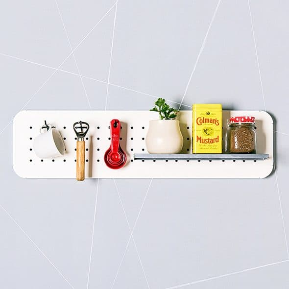 Eina Design Mini Metal Pegboard Organizer Made to Order