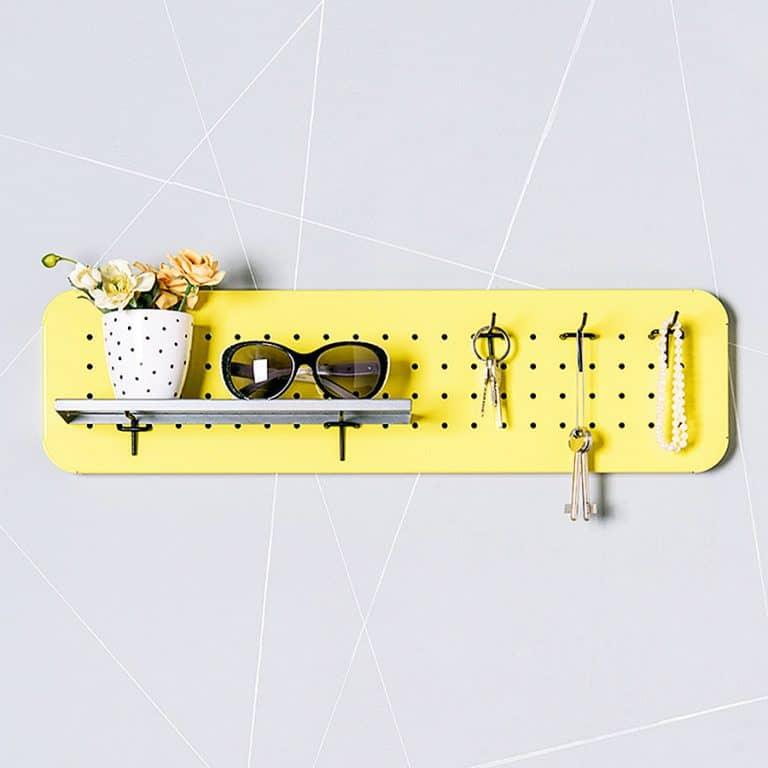 Eina Design Mini Metal Pegboard Organizer Novelty Item