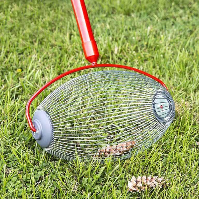 Garden Weasel Nut Gatherer Pro Flexible Gathering Basket