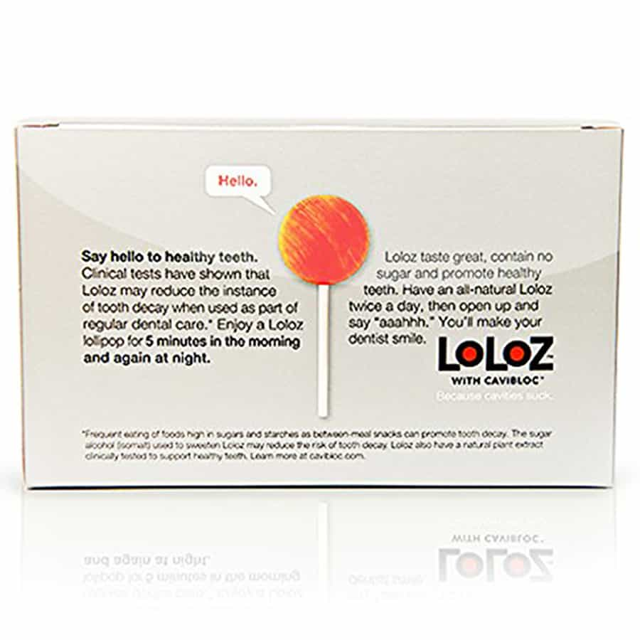 Healthy Grid Loloz Cavity Fighting Lollipops Dental Care Candy