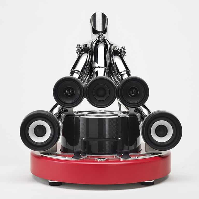 Ixoost XiLO Scuderia Carbon Fiber Subwoofer Industrial Style Speaker