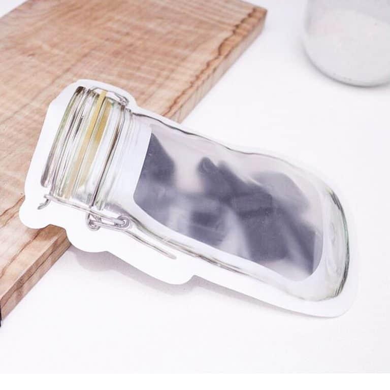 Kikkerland Zipper Bags Dishwasher Safe Bag