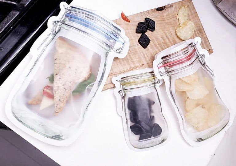 Kikkerland Zipper Bags Gift Idea for Birthdays