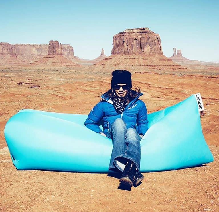 Lamzac The Original Inflatable Lounger Great for Outdoor