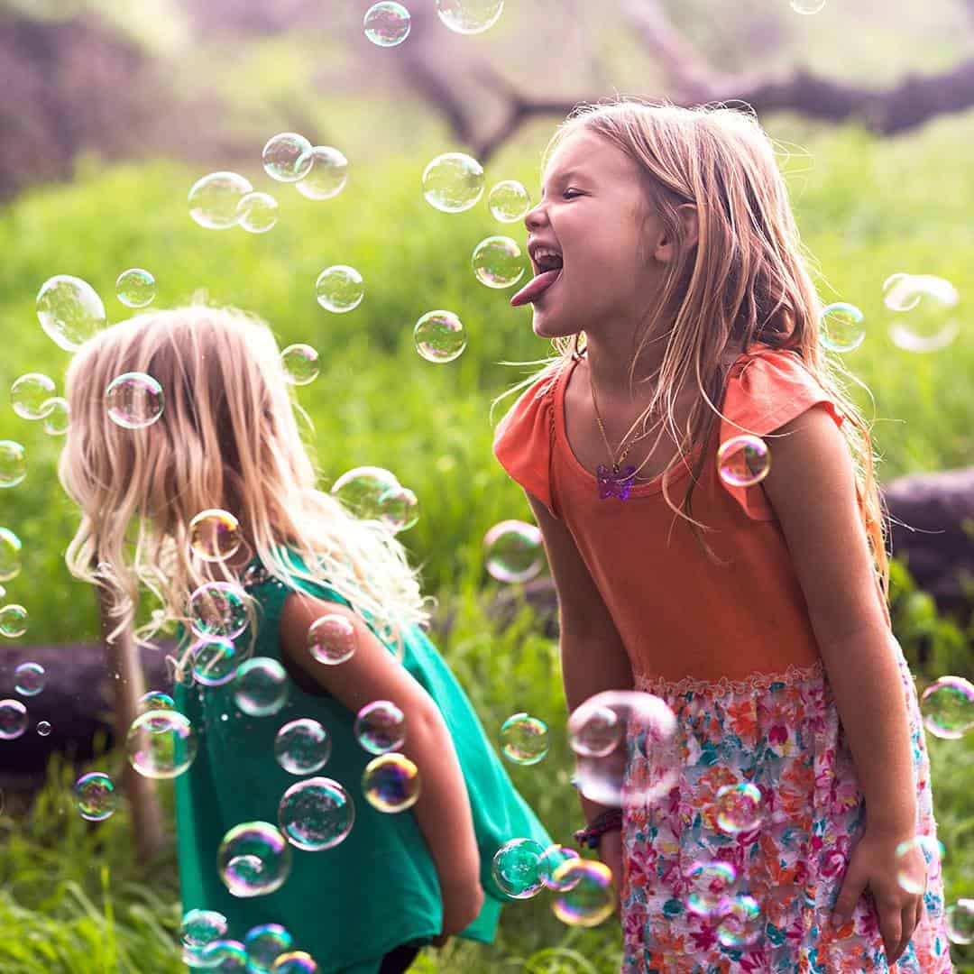 Lick A Bubble Edible Flavored Blow Bubbles Kids Eating