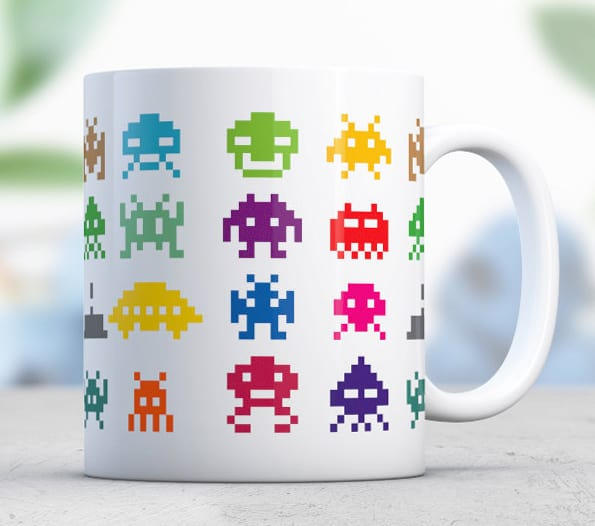 Love-Alice-Mugs-Space-Invader-Mug-Great-Pixel-Designed-Geek-Coffee-Cup