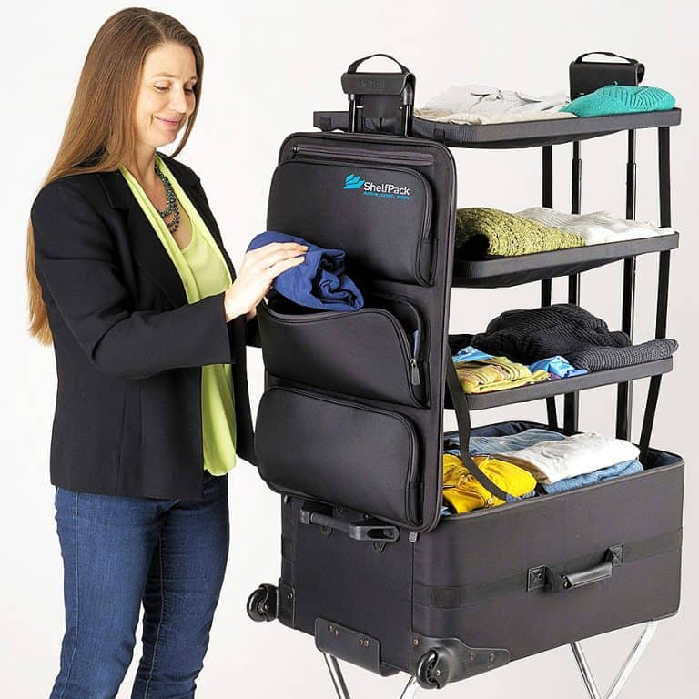 McKaba Luggage ShelfPack Easy Access Front Pockets