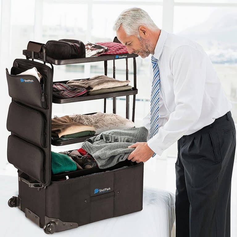 McKaba Luggage ShelfPack Great for Business Travel