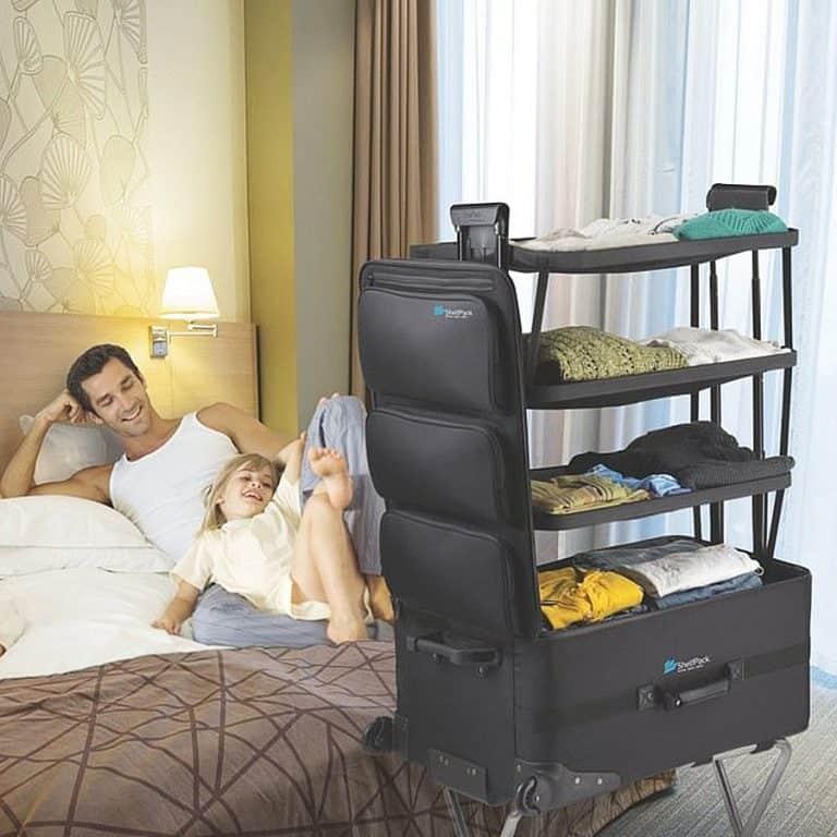 McKaba Luggage ShelfPack Portable Closet