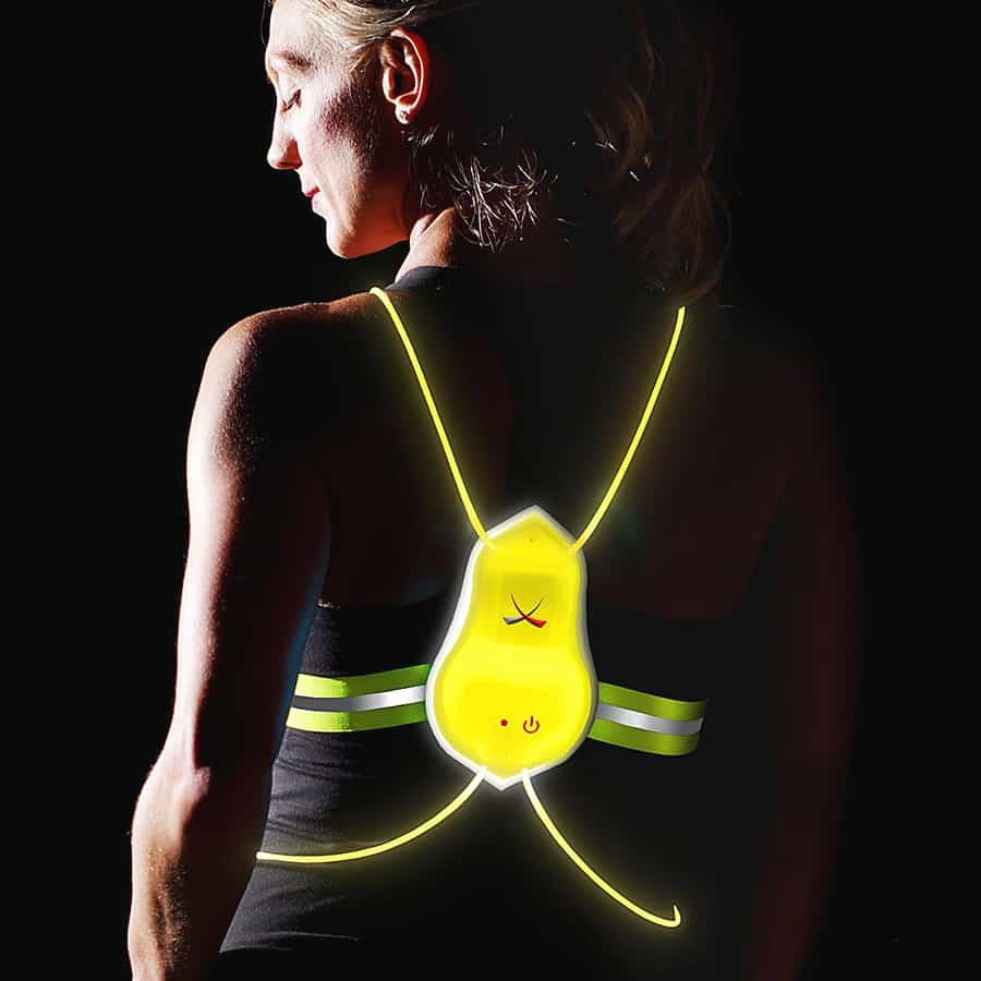 Noxgear Tracer360 Visibility Vest Great for Night Ride