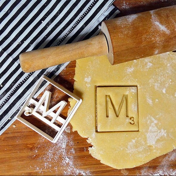 Pimp Mon Sable Cookie Cutter 3D Scrabble Letters Great for Home Cooking