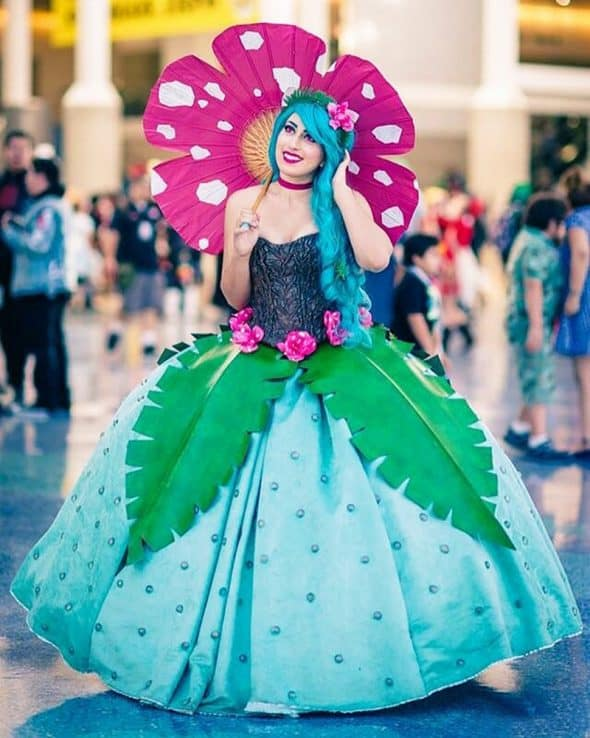 Rage Costumes Venusaur Ball Gown Great Outfit for Cosplay