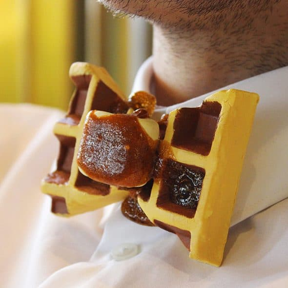Rommy De Bommy Waffle Bowtie Made to Order