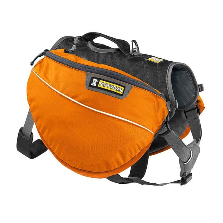 Ruffwear Approach Dog Backpack Efficient Weight Forward Design