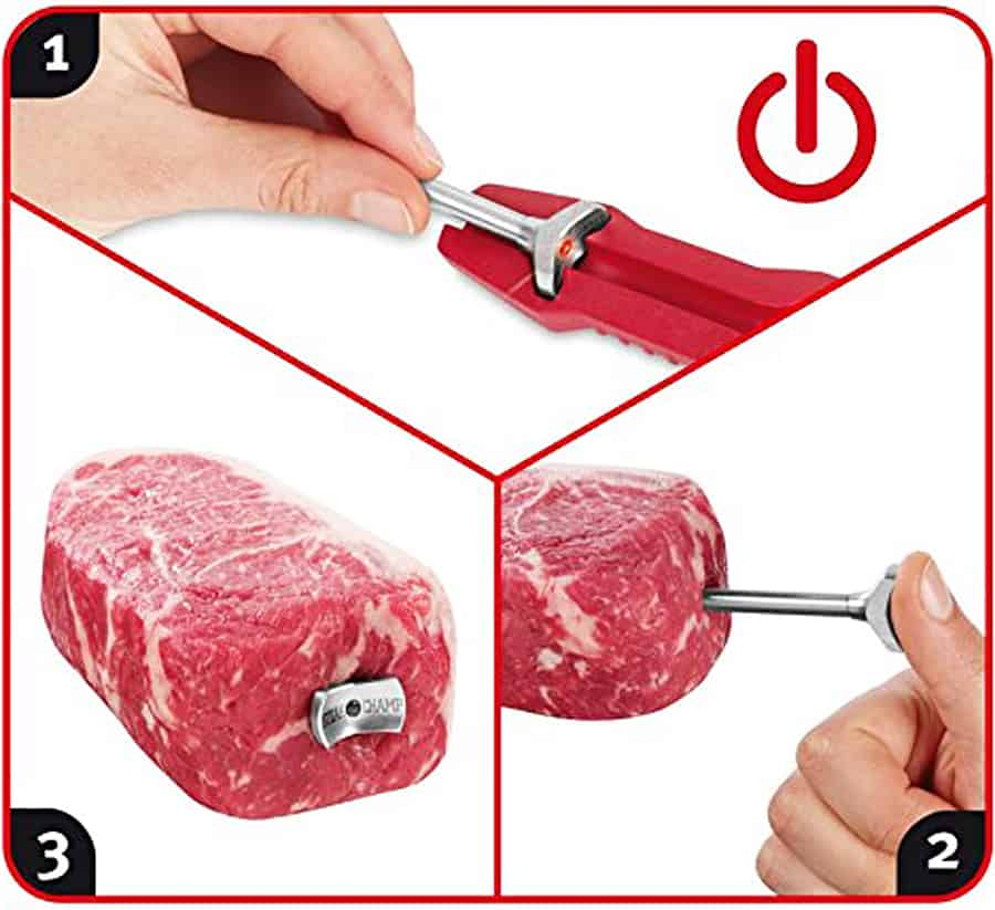 Steak Champ The Ultimate Steak Thermometer Must have for Steak Lovers