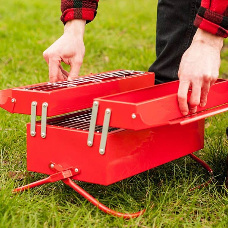 Suck UK Toolbox BBQ Portable Grill
