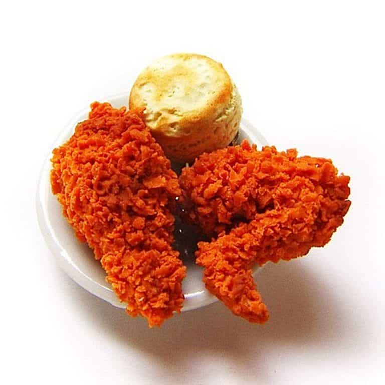 Sucre Sucre Miniatures Fried Chicken Wing Charm Cool Accessories