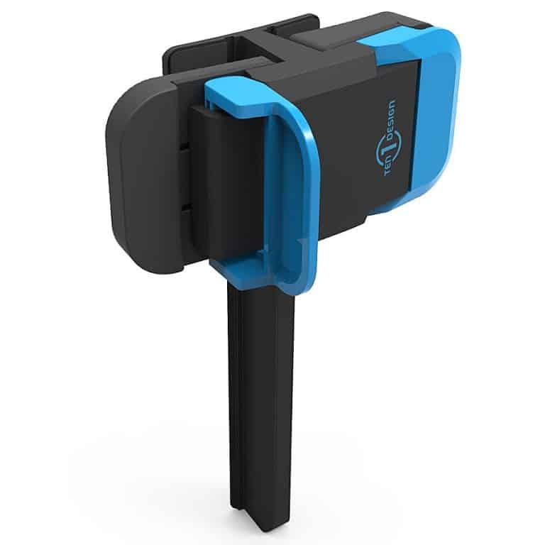 Ten One Design Mountie Mobile Device Side-Mount Clip Rubberized Grip