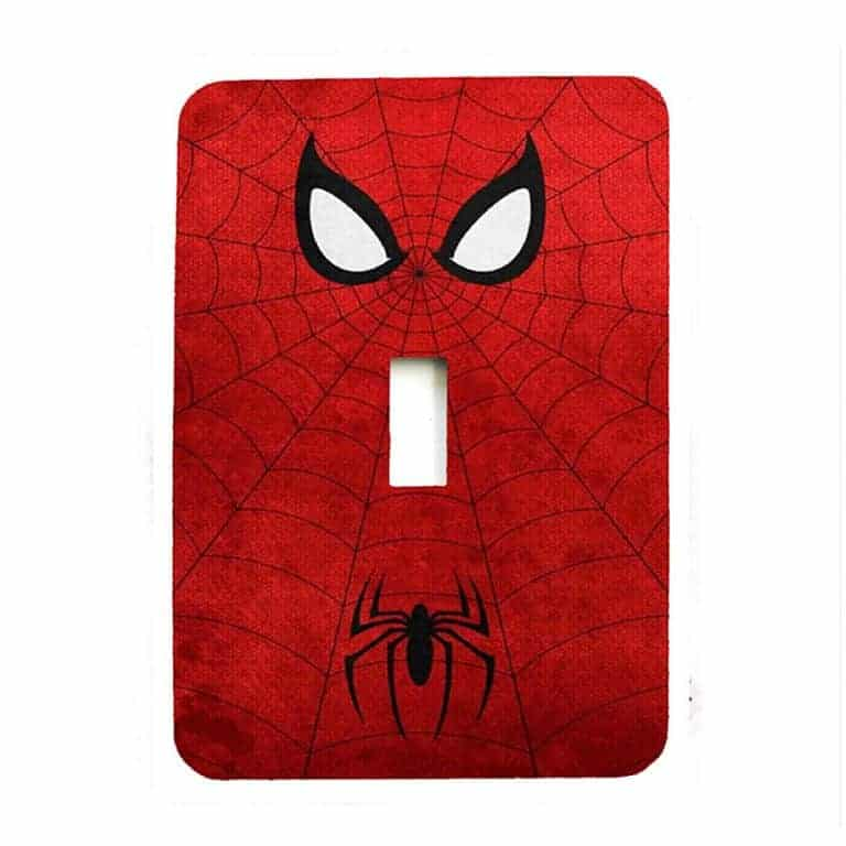 The Bazinga Box Spiderman Light Switch Cover Made to Order Item