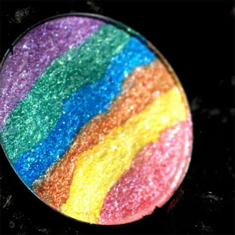 Touch Of Glam Beauty Rainbow Highlighter Multidimensional Sparkle