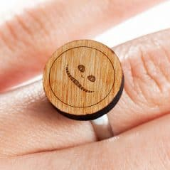 A ring for those who see through the looking glass.