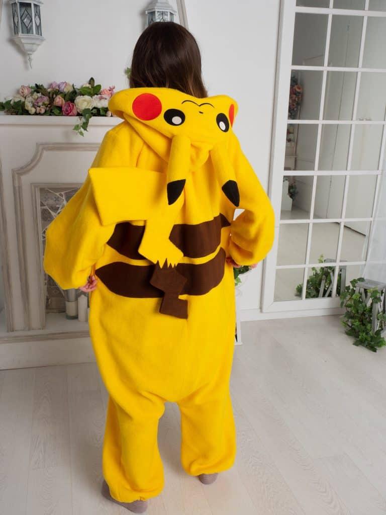 Yotsuba No Clover Pokemon Pikachu Onesie Gift Idea For Anime Fans