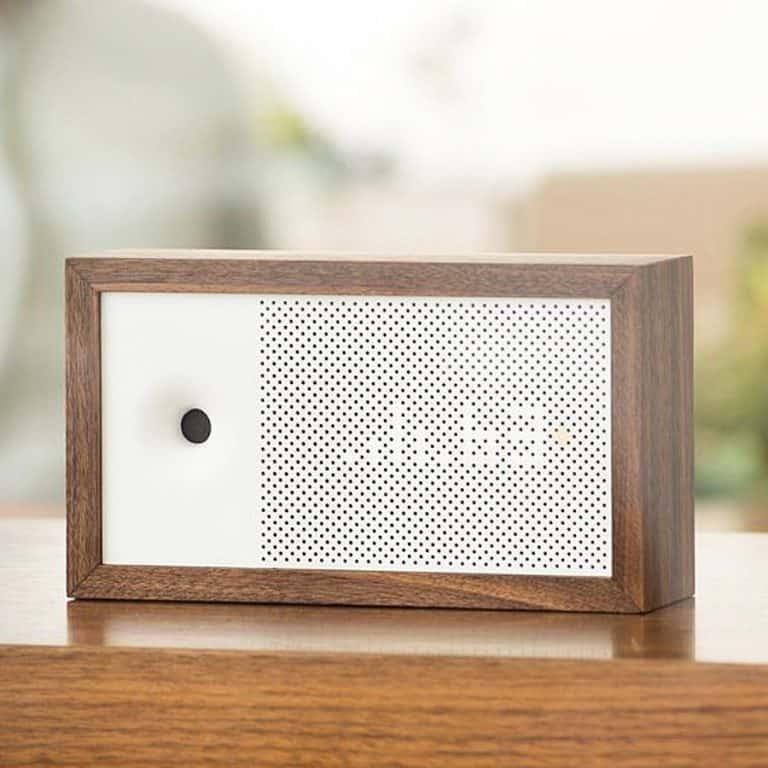 Awair Smart Air Quality Monitor Sleek Wooden Design