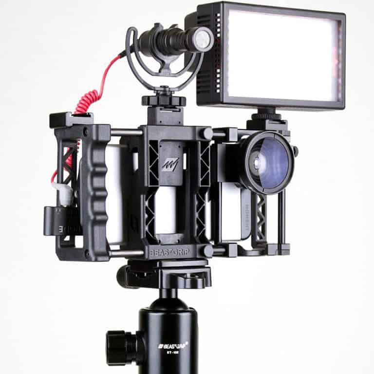 Beastgrip Universal Lens Adapter & Rig System for Smartphones Easy Access to Phone Buttons