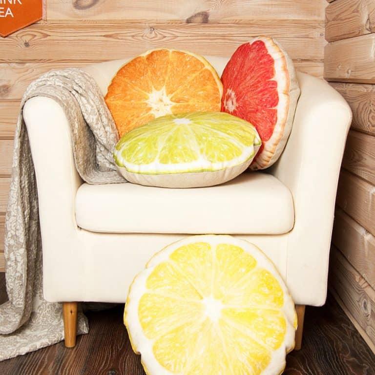 Casacova Fruit Pillows Highest Grade Synthetic Fiberfill
