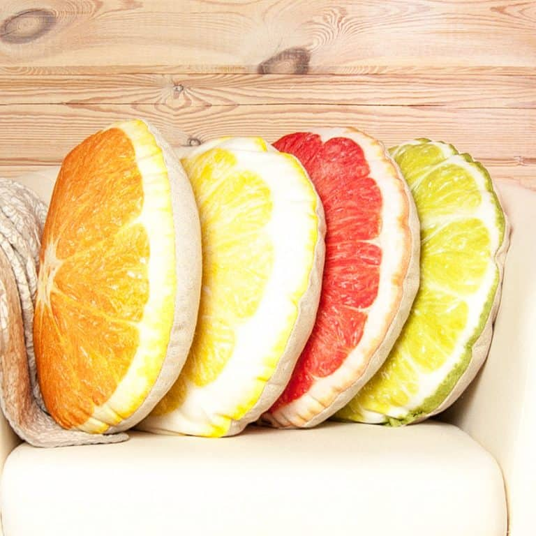 Casacova Fruit Pillows Hypoallergenic Feature