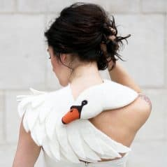 Embrace the swan. Better yet, let it embrace you.