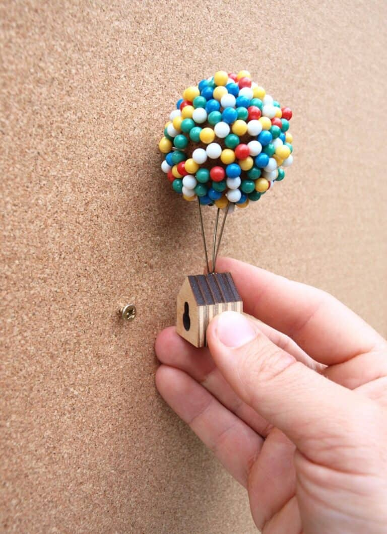 Clive Roddy Up-inspired Balloon Pin House Back Hook Attachment