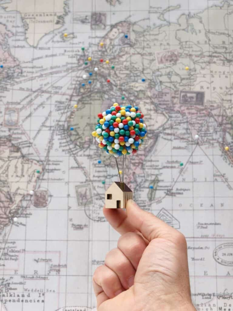 Clive Roddy Up-inspired Balloon Pin House Cute Gift Idea