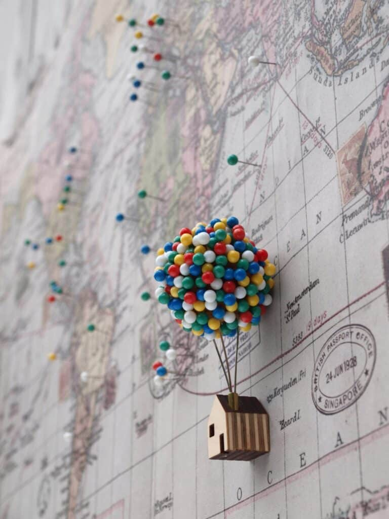 Clive Roddy Up-inspired Balloon Pin House Disney Fan Gift Idea