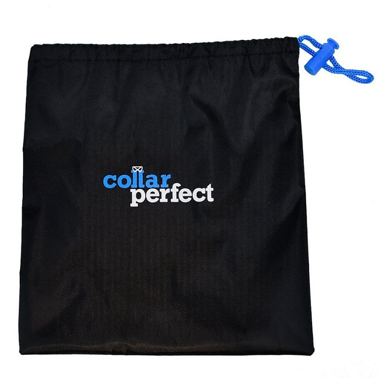 Collar Perfect Compact Touchup and Travel Iron Drawstring Bag