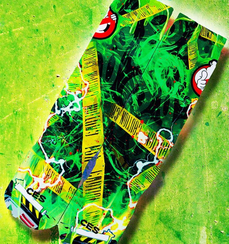 Customize Elite Socks Proton Pack Socks Novelty Item
