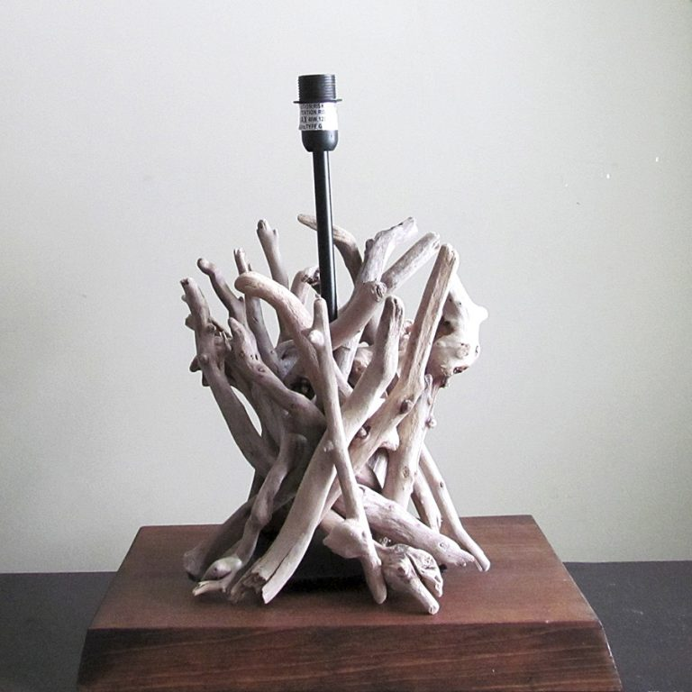 Drifting Concepts Driftwood Table Lamp Interior Decoration