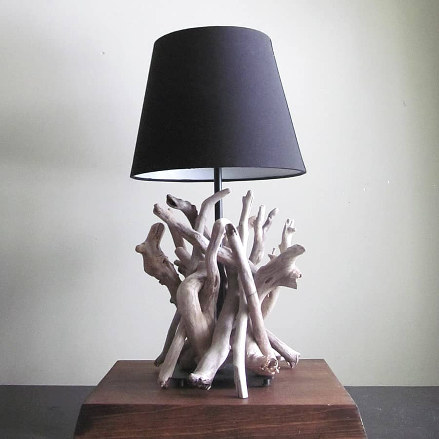 Drifting Concepts Driftwood Table Lamp Novelty Item