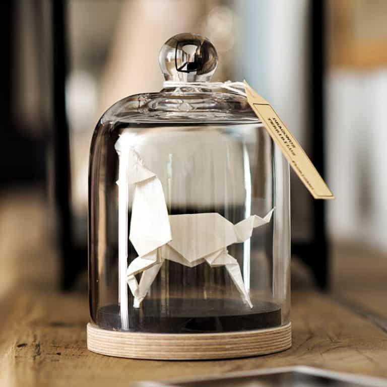 Florigami Shop Unicorn Origami Sculpture Fine Decoration